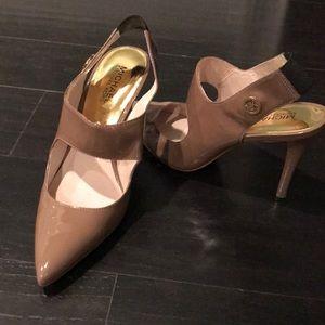 Michael Kors open back shoes